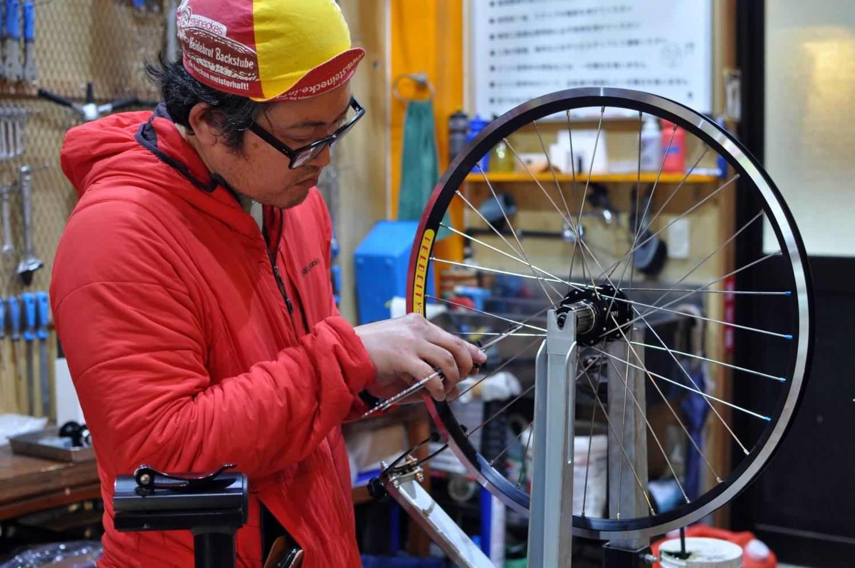 自分の手で車輪を組む / Gorilla Spun Wheel Building Class